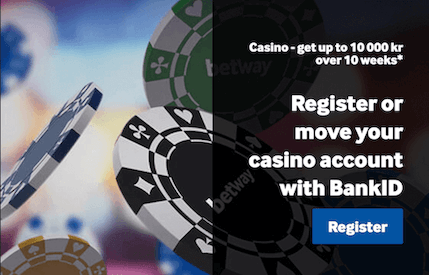 Betway Casino bankid