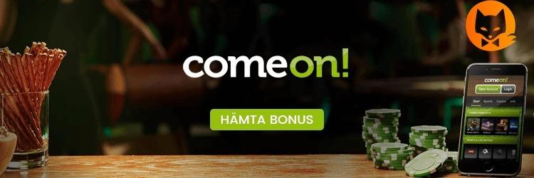 ComeOn Casino erbjuder swish insättning