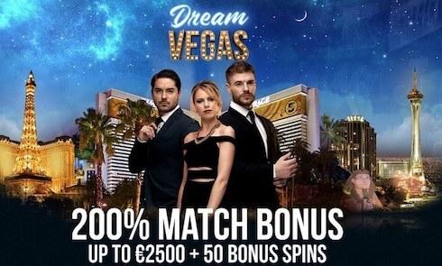 Dream Vegas casino välkomstbonus