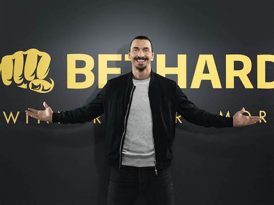 Zlatan och Bethard samarbete