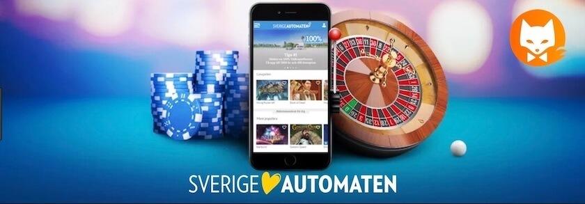 Sverige Automaten Casino Sverige och Casinofox banner