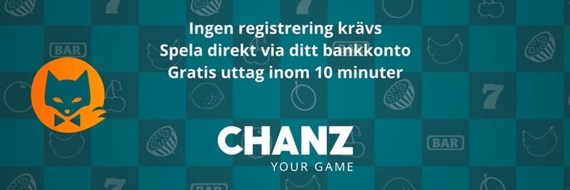 chanz casino kom igang
