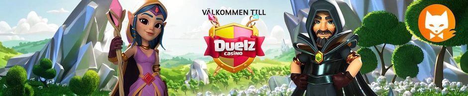 Duelz Casino banner