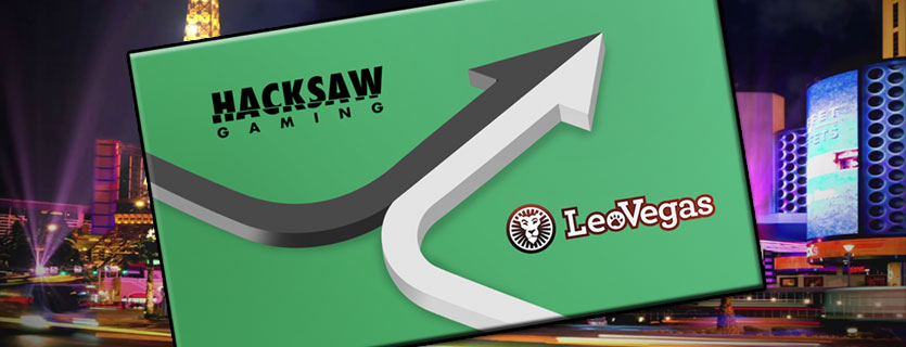 Hacksaw Gaming inleder nytt samarbete med LeoVegas