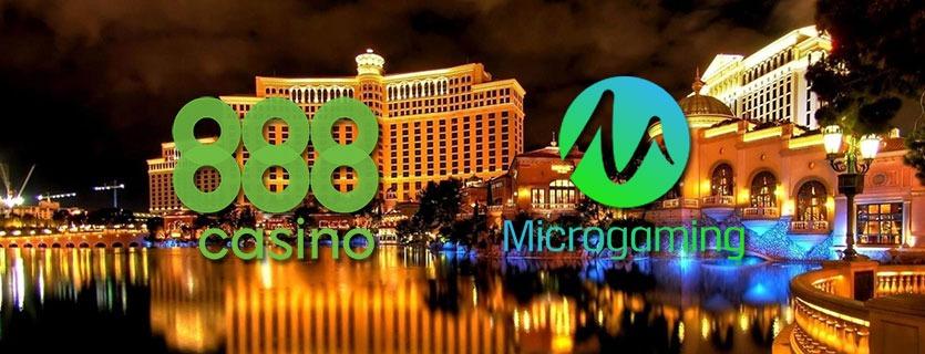 888 casino + microgaming