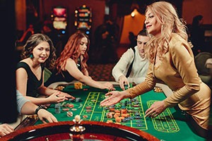 Om roulette systemen