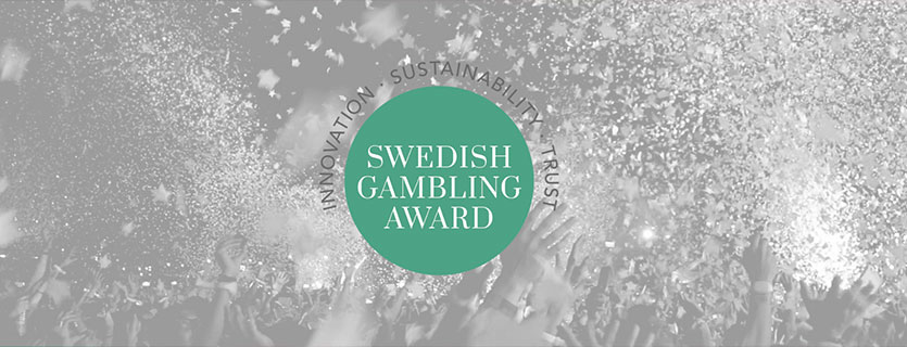 swedish gambling award banner
