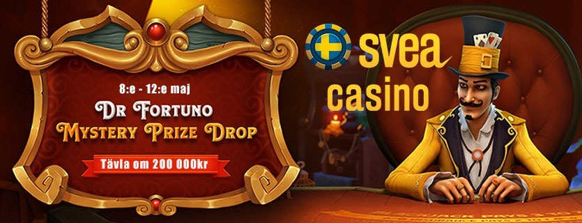 Svea casino kampanj tävla om 200 000kr