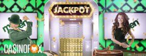 Mr Green Jackpot banner