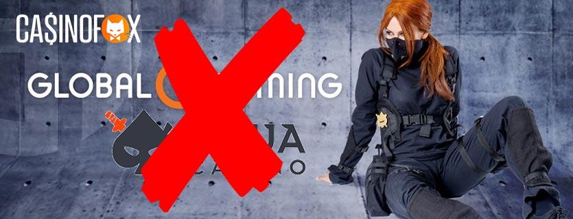 Ninja Casino Global Gaming avslag kammarratten