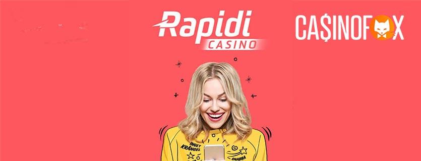 Rapidi Casino banner