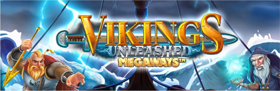 vikings megaways banner