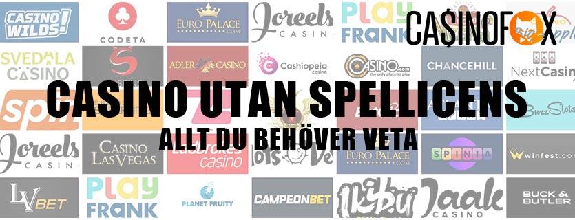 Casino utan svensk spellicens banner