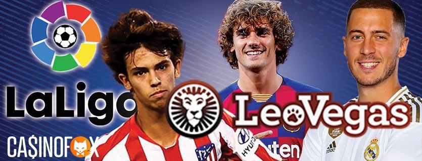 LeoVegas sänder La Liga