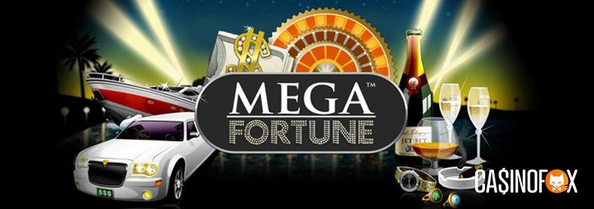 Mega Fortune banner