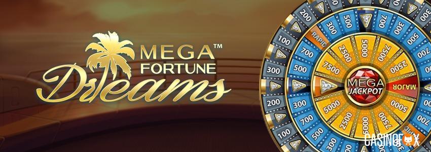 Recension av slotten Mega Fortune Dreams