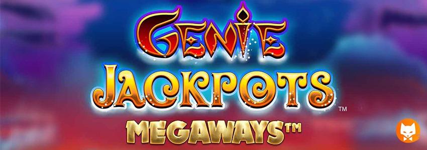 GENIE JACKPOTS MEGAWAYS banner
