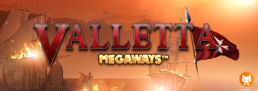 VALLETTA MEGAWAYS banner