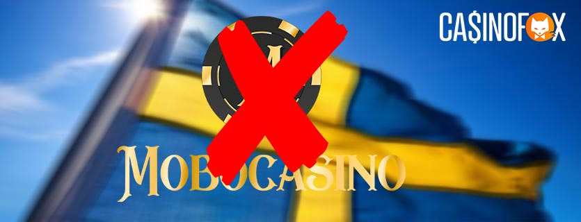 MoboCasino stänger ned i Sverige