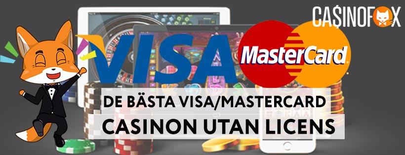 Basta Visa Mastercard Casinon Utan Svensk Licens