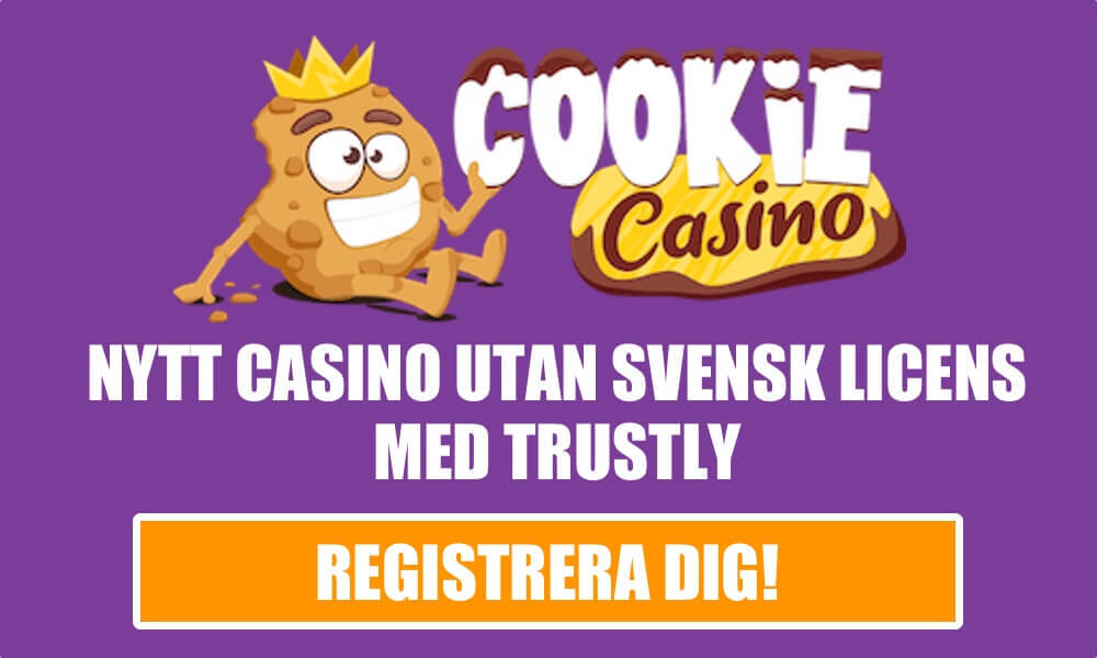Cookie casino med trustly popup