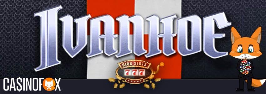 Ivanhoe slot med casinofox logga