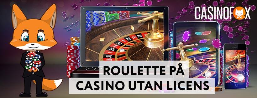 Guide för roulette på casino utan licens
