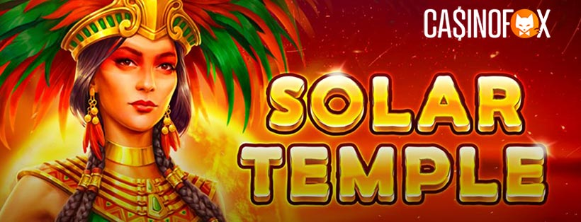 Solar Temple Slot med Casinofox logga
