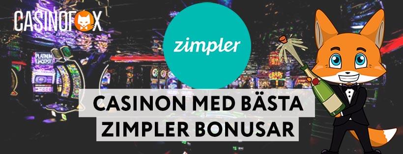 De bästa Zimpler bonusarna på online casinon