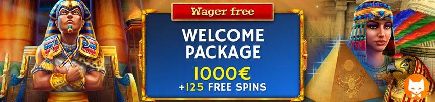 horus casino bonus banner