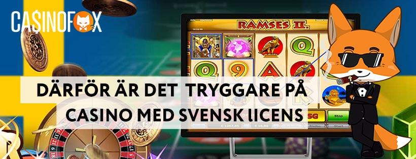 Svenska casinon är tryggare tillsammans med Mr Fox