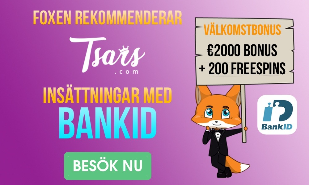 Tsars Casino bonus och insättningar