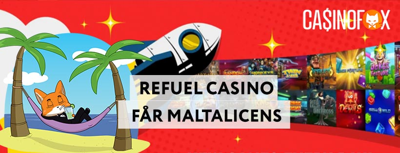 Refuel casino mga licens