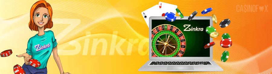Zinkra casino logga