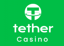 Tether casino logga