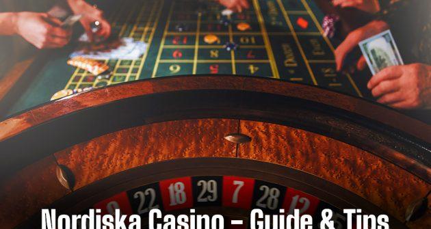 Roulette, spel på nordiskt casino banner