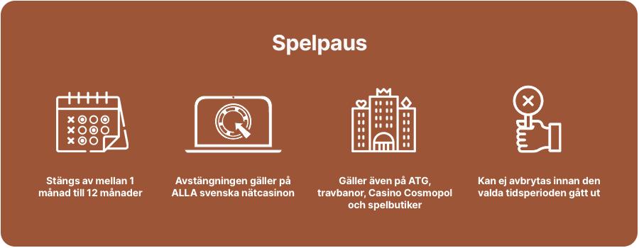 Casino utan Spelpaus fakta infograf