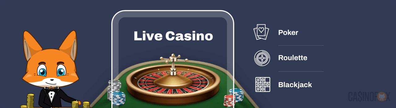 Live Casino Logga